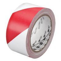 TEMKA Podlahová páska vyznačovací  červeno/bílá 33mx50mm
