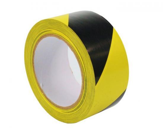 TEMKA Podlahová páska žluto/černá PVC High quality