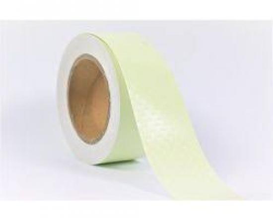Fotoluminiscenční samolepicí páska bílá 10mx25mm