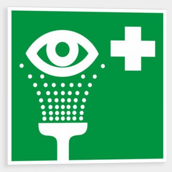 Oční sprcha - Samolepka