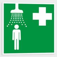 Zdravotnická sprcha - Samolepka