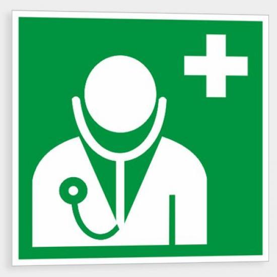 Lékař - Samolepka