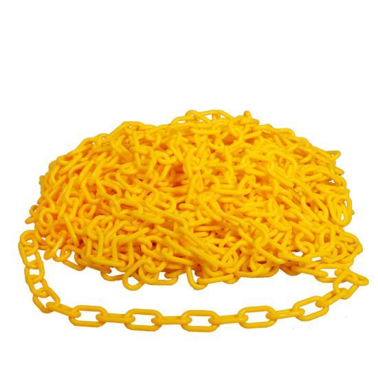 Plastový řetěz ŽLUTÝ 25m