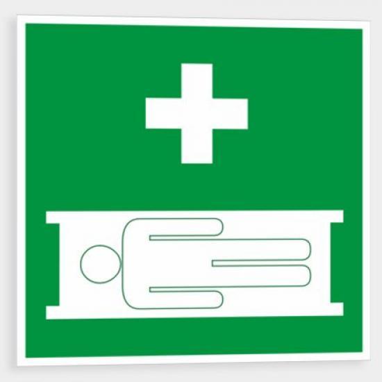 Zdravotnická nosítka - Samolepka