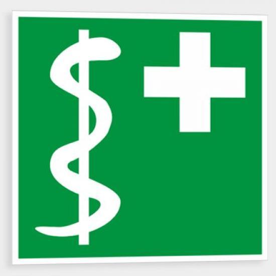 Zdravotník - Samolepka