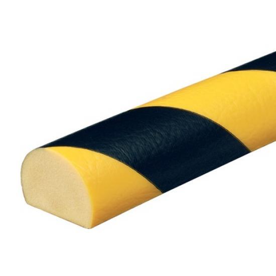 Varovný profil žluto-černý 4 × 3 cm - Samolep.