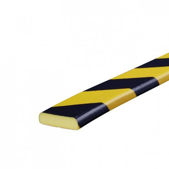 Varovný profil žluto-černý 4 x 1,1 cm - Magnet