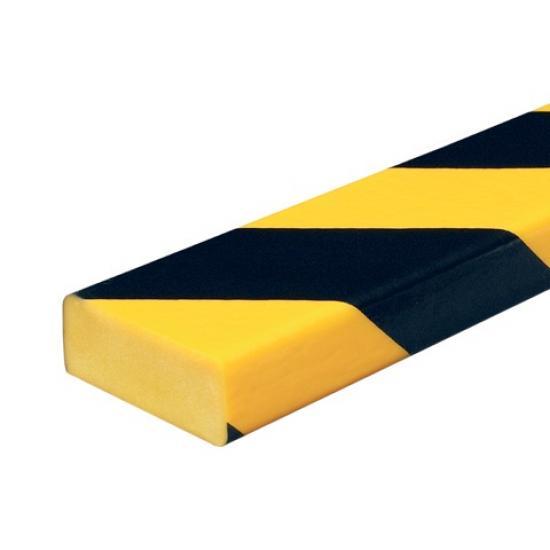 Varovný profil žluto-černý 5 x 2 cm - Samolep.
