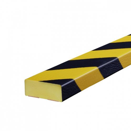 Varovný profil žluto-černý 5 x 2 cm - Magnet