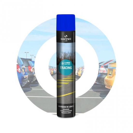 Značkovací sprej TRACING Line Soppec modrý 750ml