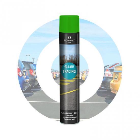 Značkovací sprej TRACING Line Soppec zelený 750ml