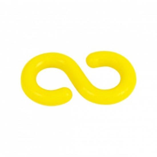 """Plastová spojka žlutá """"S"""""""