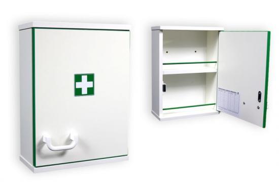 Závěsná lékárnička XDL 200 - Dřevěná