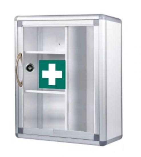 Lékárnička závěsná s poličkami - SignUs B013