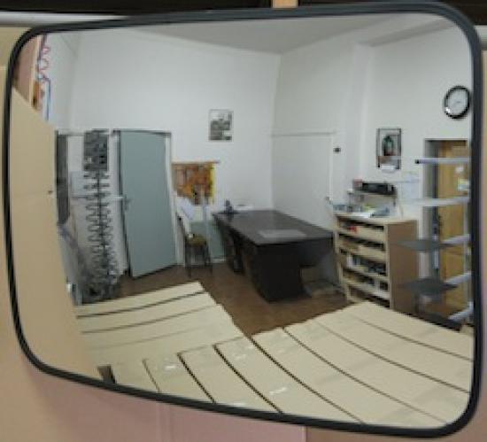 Interiérové zrcadlo - 400 x 600 mm