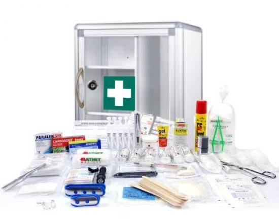 Lékárnička - SignUs B013 + výbava LABORATOŘE