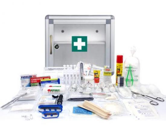 Lékárnička - SignUs B010 + výbava ZÁKLADNÍ