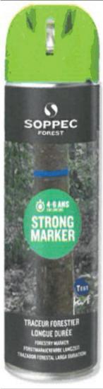 Lesnický značkovací sprej STRONG Marker Soppec zelený 500ml