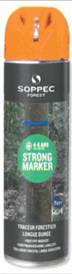 Lesnický značkovací sprej STRONG Marker Soppec oranžový 500ml