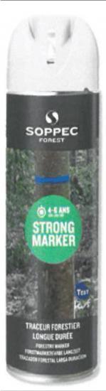 Lesnický značkovací sprej STRONG Marker Soppec bílý 500ml