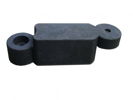 Obrubník gumový černý