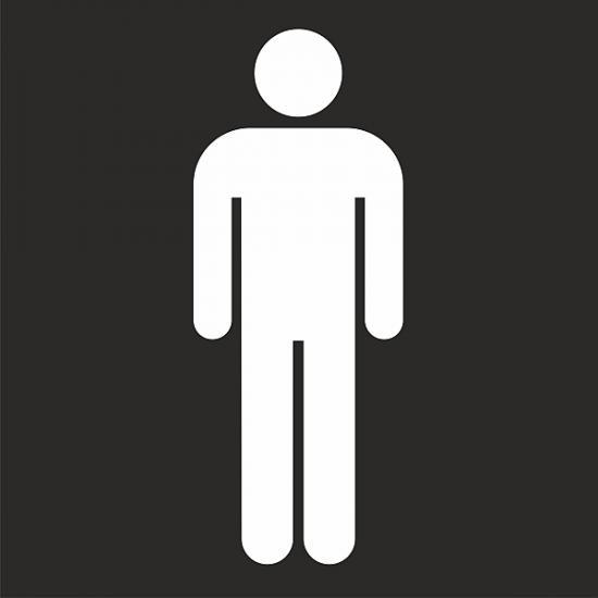 Šablona - Toalety muži