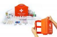 Lékárnička na zeď, přenosná plastová STAVBA standard