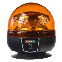 AKU LED maják, 12x3W oranžový, magnet, ECE R65