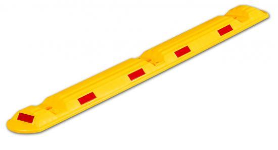 Parkovací doraz  - CARSTOP žlutý s odrázky