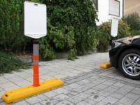 Parkovací doraz CARSTOP - s flexibilní tyčí