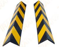 Výstražný profil na rohy - žluto-černý
