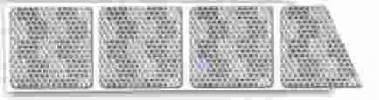 Reflexní páska  BÍLÁ  pro flexibilní povrch