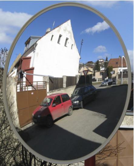 Universální zrcadla kruhové 600mm