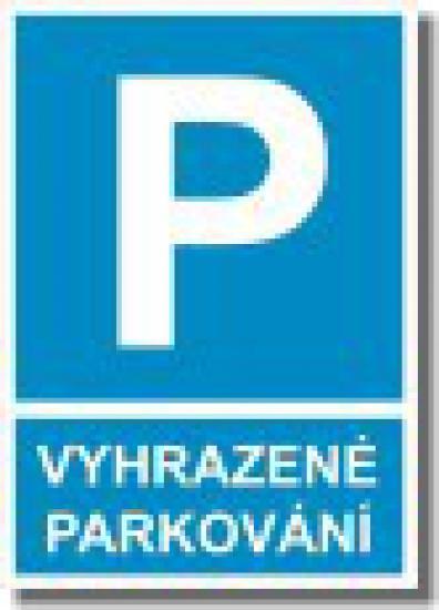 Vyhrazené parkování