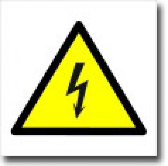 Pozor elektrické napětí