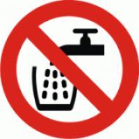 Voda nevhodná k pití