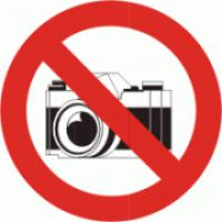 Zákaz fotografování