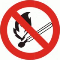Zákaz vstupu s otevřeným ohněm