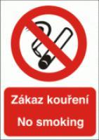 Zákaz kouření - No smoking samolepicí fólie