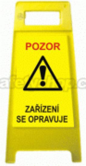 Pozor! Zařízení se opravuje