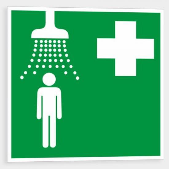 Zdravotnická sprcha - Plast