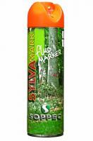 Lesnický značkovací sprej Fluo Marker Soppec oranžový 500ml