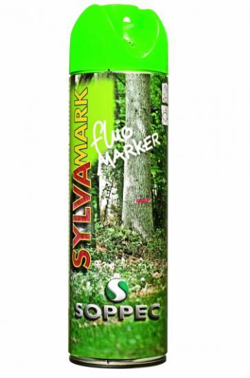 Lesnický značkovací sprej Fluo Marker Soppec zelený 500ml