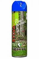 Lesnický značkovací sprej Fluo Marker Soppec 500ml modrý