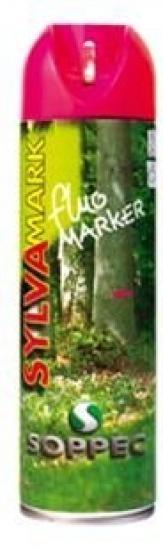 Lesnický značkovací sprej Fluo Marker Soppec růžový 500ml
