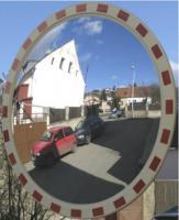 Dopravní zrcadlo pr.1200 mm doprava zdrama po ČR