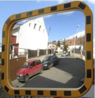 Průmyslové zrcadlo obdelníkové 400x600mm