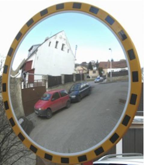 Průmyslové zrcadlo kruhové 900mm