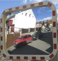 Dopravní zrcadlo obdelníkové 400x600mm  N