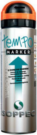 Značkovací sprej TEMPO Marker Soppec oranžový 500ml